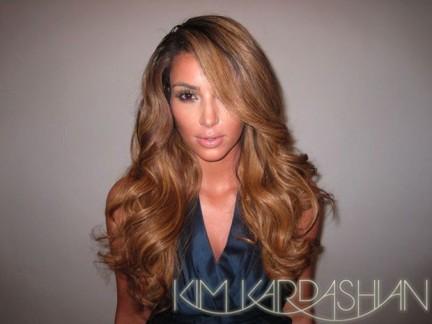 Il nuovo look di Kim Kardashian
