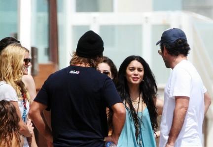 La festa del 4 luglio di Vanessa Hudgens e Zac Efron