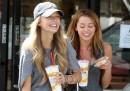 Miley Cyrus: a spasso con Melissa Ordway