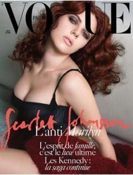 Scarlett Johansson su Vogue Paris