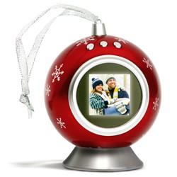 Pallina Natale Con Foto Digitale.Magicchristmas Cornice Digitale A Forma Di Pallina Di Natale