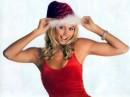 Celebrità vestite da Babbo Natale