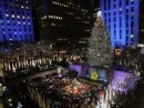 Cerimonia di accensione 2009 albero Rockefeller Center