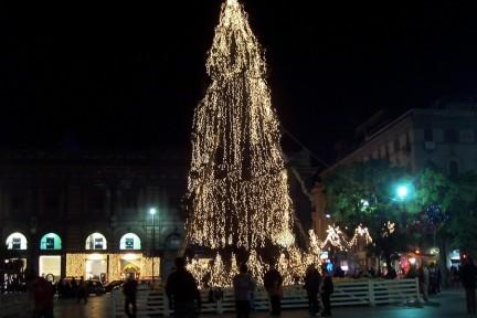Le luci di Natale a Palermo