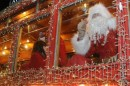 i tram di Natale in giro per le vie di Roma