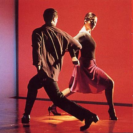 coppia di tango che balla