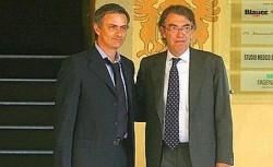 Moratti Mourinho