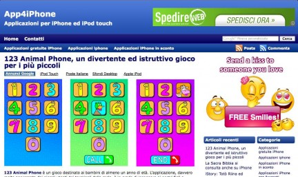 App4iPhone: un nuovo blog dedicato all'iPhone ed all'iPod touch