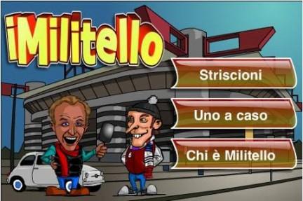 iMiletello: gli striscioni di Striscia la notizia su iPhone