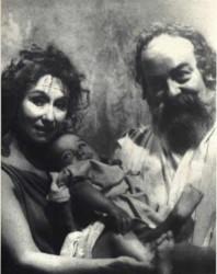 Socrate Santippe e figlio