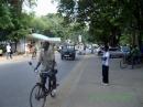 Lamu road nei pressi della Commercial Bank