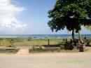 vista mare fronte Baobab restaurant