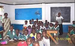 la classe di una scuola