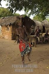 scena di danza Giriama