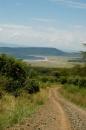 Nakuru, pista che porta al lago