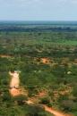 il confine tra Tsavo east e Tsavo west
