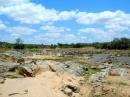 Tsavo east: fiume Voi.