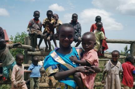 bambini della tribù kipsigi-Nandi