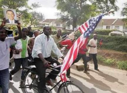 manifestazioni pro-Obama in Kenya
