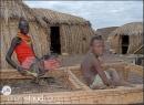 pescatori ElMolo nel loro villaggio