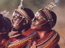 giovani ragazze Maasai
