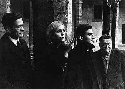 Pier Paolo Pasolini, Laura Betti e Goffredo Parise