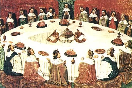 Buon appetito con re art - Re artu ei cavalieri della tavola rotonda ...