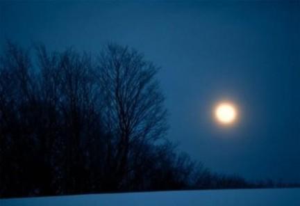 luna invernale