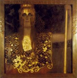 Klimt - Pallade Athena (1898)