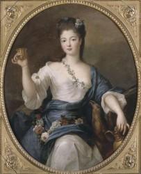 Piere Gobert - Ritratto della Duchessa di Modena come Ebe