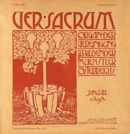 VerSacrum N�°1 - A_Roller_Gennaio 1898