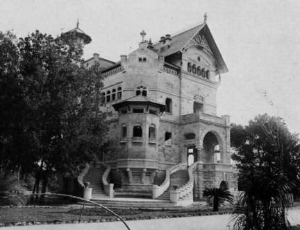 Villino Florio all'Olivuzza  Basile 1899-1902