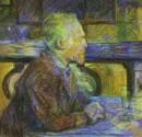 - H_De Toulouse lautrec Ritratto di Van Gogh (1887)