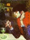 Picasso Bevitrice di assenzio 1901