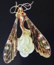 Collana con pendente, in oro e smalto, del 1899-1900 c.a (presente nella Collection Communauté de Communes du Pays de la Petite)