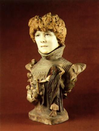 Sarah_Bernhardt di Jean Leon Gerome 1895