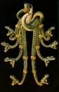 R Lalique - Pettorina Nove Serpenti