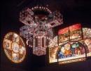Louis Comfort Tiffany - Croce tridimensionale vetro 1893