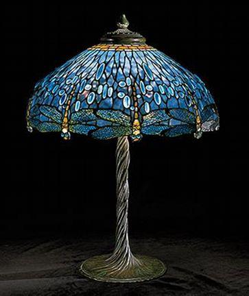 Louis Comfort Tiffany & Clara Driscol - Libellula_Lampada da tavolo - 1902