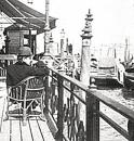 Marcel Proust sul Canal Grande nel 1900