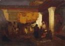 Louis Comfort Tiffany - L'incantatore di serpenti di Tangeri - 1872