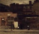 Louis Comfort Tiffany - Duane Street - 1877