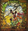 Louis Comfort Tiffany - Four Seasons - Spring
