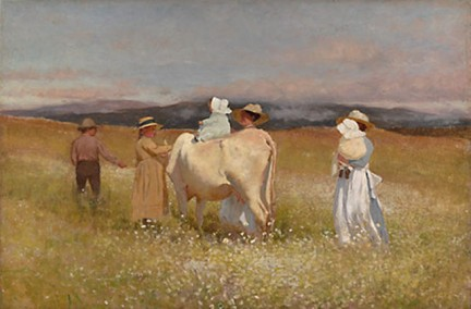 Louis Comfort Tiffany - My Family at Somesville - 1888 - Met Museum