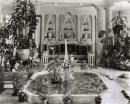 Corte della fontana nella Laurelton Hall - 1920