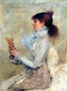 Sarah Bernhardt ritratta da Jules Bastien-Lepage (1879)