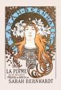 Sarah Bernhardt - La Plume