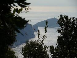 veduta dell'isola Palmaria
