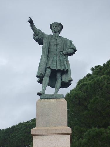 busto a Cristoforo Colombo