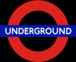 London tube - http://en.wikipedia.org/wiki/London_Underground